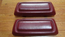89-93 Dodge Truck Club Cab rear JUMP SEAT back rest Pad (red)