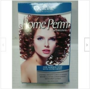 Ogilvie The Original Home Perm, For Normal Hair Now With Extra Body Fast Shiping