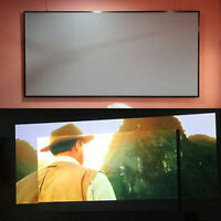UK_ 60-130'' Anti-light Curtains 16:9 Projector Screen Projection 3D Home Theate