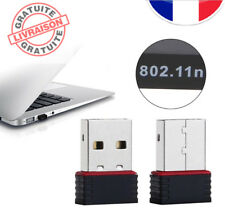 CLE USB ADAPTATEUR WIFI 802.11 N G B RESEAU INTERNET DONGLE WINDOWS VISTA XP