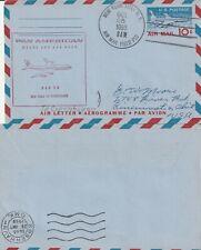 US 1959 FAM 18 FIRST FLIGHT FLOWN COVER NEW YORK NY TO COPENHAGEN DENMARK