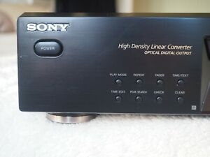 Sony CD player separate CDPX E570 silver Excellent condition