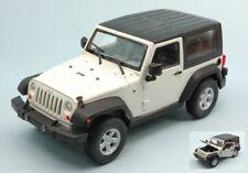 Jeep Wrangler Rubicon 2007 White 1:24 Model 22489CW WELLY