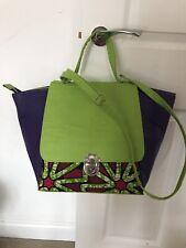AFRICAN PRINT Tote Handbag (PU LEATHER )##Work Bag ##