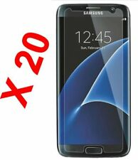 20 x Brand New TEMPERED GLASS FILM SCREEN PROTECTOR FOR SAMSUNG GALAXY S6 EDGE