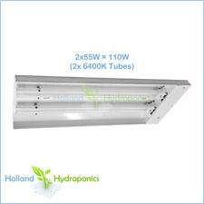 PL 2x55W 6400K T5 PROPAGATION GROW LIGHT Hydroponics Compact Fluorescent Panel