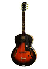Alden AD-150 Jazz Archtop Guitar P90 Hollow Body Vintage Sunburst Electric