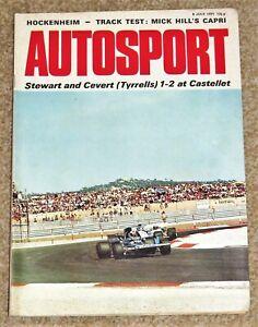 Autosport 8/7/71* FRENCH GP - VILA REAL GP - HOCKENHEIM - POCONO - VOLVO 144GL
