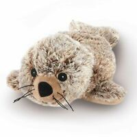 Fully Microwaveable Soft Plush Toy Heatable With Relaxing Lavender - Seal