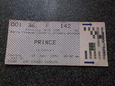 PRINCE  TICKET STUB  WEMBLEY  19th JUNE 1990