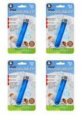 IncrediBubbles - Pet Toys by PetQwerks  Flavored Bubbles & Blower - 4 packs!