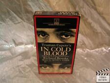 In Cold Blood VHS Robert Blake Scott Wilson RCA Columbia Picutres Home Video