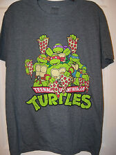 Teenage Mutant Ninja Turtle TMNT Charcoal Gray Shirt Mens Size 2XL 2XX NWT