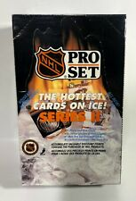 1990 Pro Set series 2 NHL Hockey Card Box 36 packs Factory Sealed