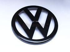 VW GTI Rabbit Jetta GLI MK5 5 Gloss Black Front Grill Euro Badge Emblem Logo MK