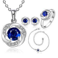 Sapphire Gemstone Costume Jewellery Sets
