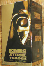 Star Wars 4, 5, 6 - VHS/SciFi/Harrison Ford/Mark Hamill/Carrie Fisher/gold BOX