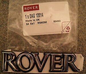 Genuine New ROVER BADGE Trunk Emblem 100 114 116 200 220 400 600 800 Montego