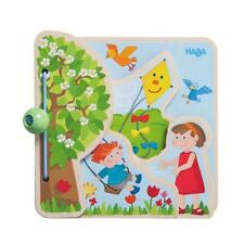 The Four Seasons Baby Book - Wooden Pages - Learn About the Seasons