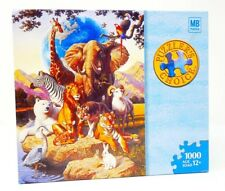 c78f0fd44bec42 Wild Creatures Jigsaw Puzzle Endangered Animals 1000 Piece New Sealed Hasbro