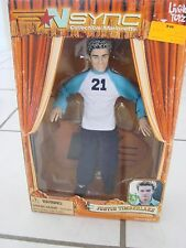 Living Toyz Nsync Collectibles Marionette Justin Timberlake Figure 2000 new