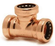 COPPER Push Fit - 22mm Uguale Tee-TECTITE Sprint-qualità Pushfit (75557)