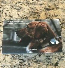 PETFON SMART TRACKER DOG GPS LOCATION DEVICE NO MONTHLY FEE