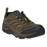 New Mens Merrell Brown White Pine Vent Suede Trainers Lace Up