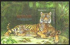Malaysia 2013 Endangered Big Cats - Tiger  M/S MNH
