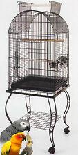 """65"""" Bird Parr 00004000 ot Cage Cockatiel Amazon African Grey Caique Conure Stand 249"""