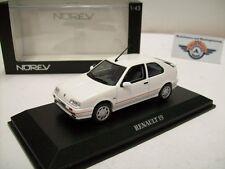 Renault 19 16V, white, 1990, Norev 1:43, OVP