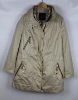 BONITA Damen Jacke mit Weste, creme, Größe XL