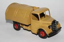 1950's Dinky #252 Bedford Garbage Truck, Tan and Green, Original, #9