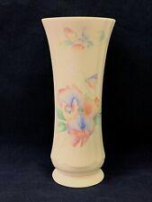 "NEW Aynsley Little Sweetheart English Bone China 6.5"" Tall Footed Bud Vase"
