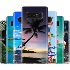 Dessana Tropical Protection Silicone Étui Coque Portable pour Samsung Galaxy A J