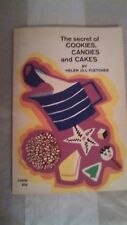 1970 The Secret of Cookies, Candies and Cakes Cookbook Recipe Book 91 Pages