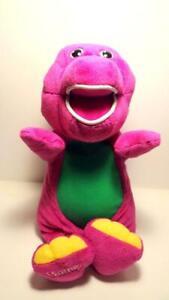 Fisher Price Barney The Dinosaur Magical Friend Light Singing Vtg Plush 2001