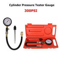 Kit Testeur de Compression Moteur Essence Gaz Cylindre Compressiomètre + Coffret