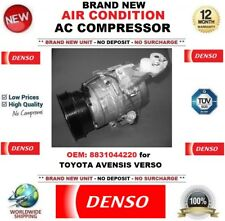 DENSO AIR CONDITIONING AC COMPRESSOR OEM: 8831044220 for TOYOTA AVENSIS VERSO