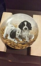 "Knowles collector plate ""Fine Feathered Friends-English Setters"""