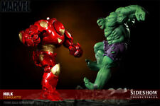 SIDESHOW AVENGERS HULKBUSTER & GREEN HULK COMIQUETTE EXCLUSIVES