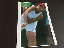 DANIELA HANTUCHOVA 4 GRAND-SLAM-SIEGE TENNIS signed Photo 20x30 Autogramm