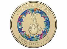 2017 Australia Possum Magic $2 Coloured Coin - Invisible Hush - Limited Edition
