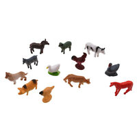 12pcs Cognitive Early Educational Toys Animal Simulation Model for Kids S