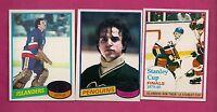 1980-81 TOPPS MILLEN + SMITH + RESCH  GOALIE NRMT+ CARD  (INV#2341)