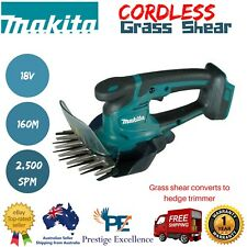 Makita Cordless Grass Shears Garden Lawn Hand Power Tool w/ Dual Blade 18V 160mm