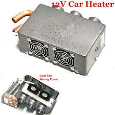 12V 3 Hole 80W Portable Car Heating Cooling Fan Heater Kit Defroster Demister