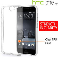 For HTC One A9 Clear Soft TPU Gel Protective Back Case Cover For HTC One A 9