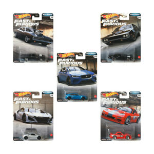 Hot Wheels Fast And Furious Limited Edition 5-car Premium Set