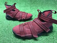 Nike Lebron Soldier Xi Big Kids Style : 918369 918369-699 Team Red SZ 6.5 Maroon